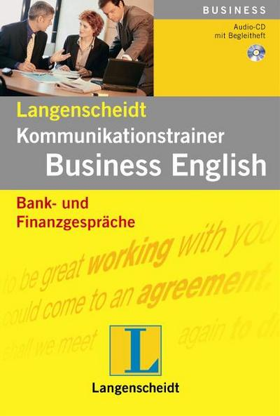 Bank- und Finanzgespräche - Audio-CD mit Begleitheft (Langenscheidt Kommunikationstrainer Business English)