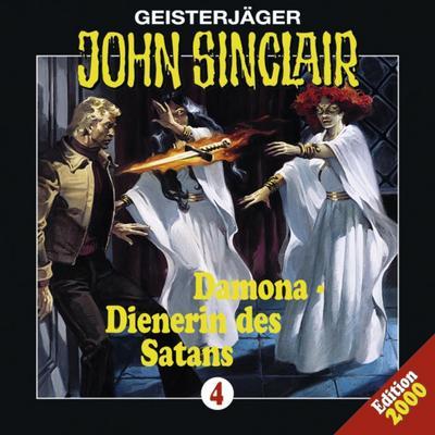 John Sinclair - Folge 4; Damona - Dienerin des Satans. Hörspiel. Hörspiel; Geisterjäger John Sinclair; Deutsch; Spieldauer 54 Min, 13 Tracks
