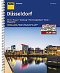 ADAC Stadtatlas Düsseldorf/Rhein-Wupper mit Duisburg, Mönchengladbach, Venlo 1 : 20 000
