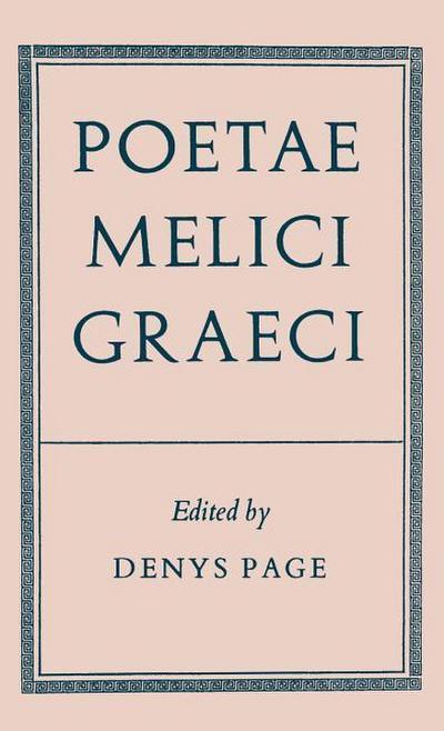 Poetae Melici Graeci