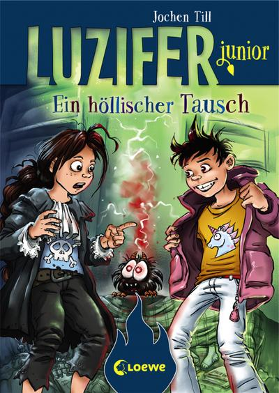 Luzifer junior - Ein höllischer Tausch; Luzifer junior; Ill. v. Frey, Raimund; Deutsch