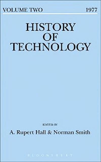 History of Technology Volume 2