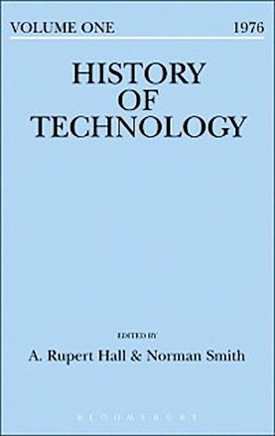 History of Technology Volume 1