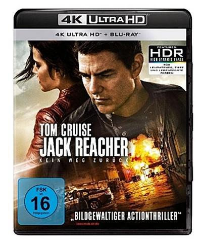 Jack Reacher: Kein Weg zurück 4K, 2 UHD-Blu-ray