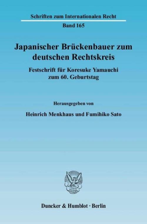 Japanischer Brückenbauer zum deutschen Rechtskreis, Heinrich Menkhaus