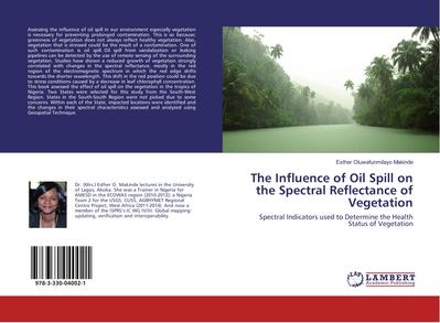 The Influence of Oil Spill on the Spectral Reflectance of Vegetation