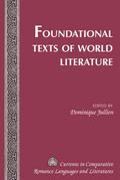 Foundational Texts of World Literature