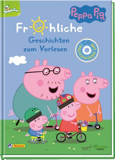 Peppa: Fröhliche Geschichten zum Vorlesen/ CD