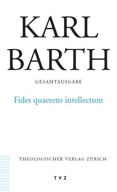 Fides quaerens intellectum