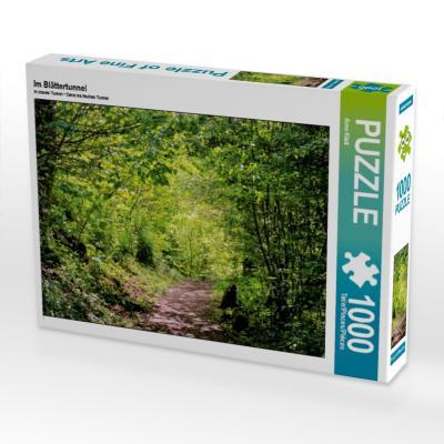 Im Blättertunnel (Puzzle)