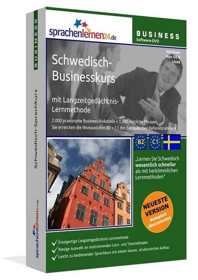 Sprachenlernen24.de Schwedisch-Businesskurs Software