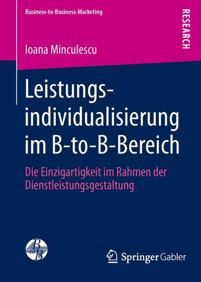 Leistungsindividualisierung im B-to-B-Bereich
