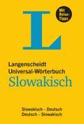 Langenscheidt Universal-Wörterbuch Slowakisch - mit Tipps für die Reise
