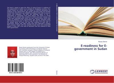 E-readiness for E-government in Sudan