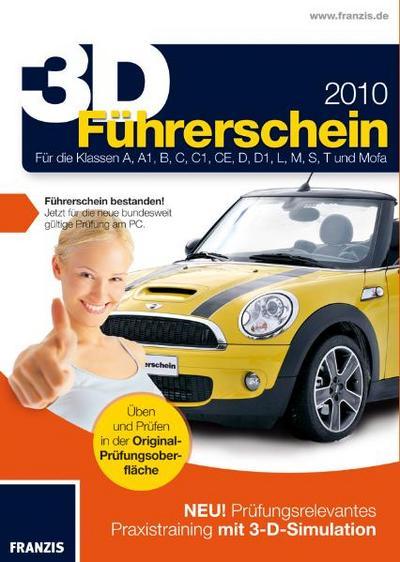 3D Führerschein 2010, CD-ROM