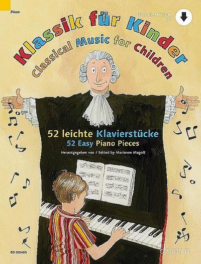 Klassik für Kinder Klavier