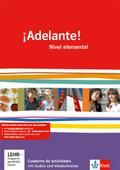 ¡Adelante!. Cuadernos de actividades mit Multimedia-CD. Nivel elemental
