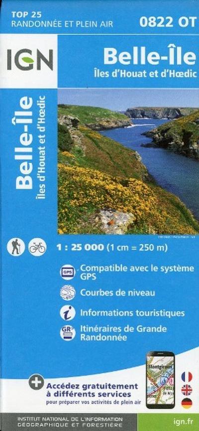 Belle-Île  1 : 25 000
