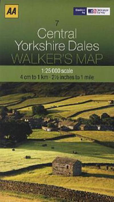 Walker's Map 07 Yorkshire Dales 1 : 25 000