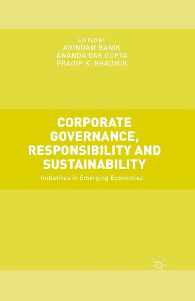 Corporate Governance, Responsibility and Sustainability