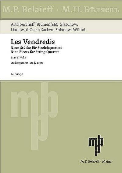 Les vendredis Band 1für Streichquartett