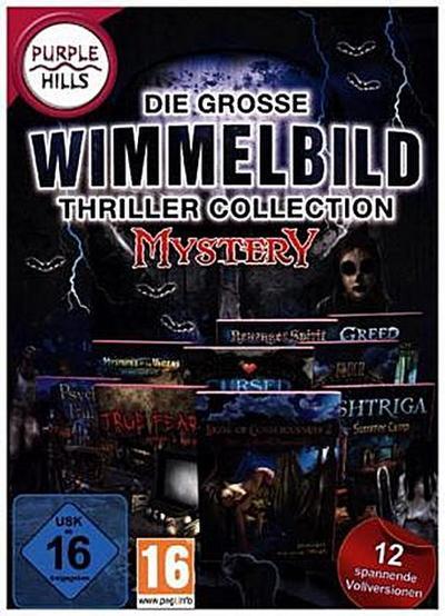 Die große Wimmelbild-Thriller Collection Mystery, 1 DVD-ROM