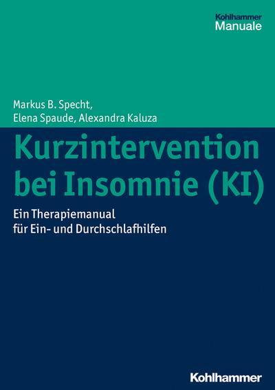 Kurzintervention bei Insomnie (KI)