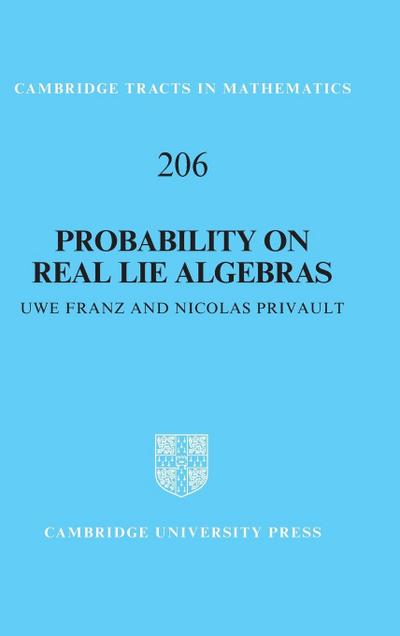 Probability on Real Lie Algebras