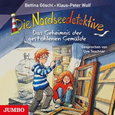 Die Nordseedetektive. Das Geheimnis der gestohlenen Gemälde [8]