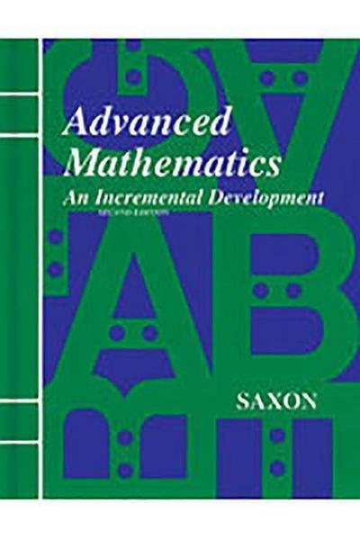 Saxon Advanced Math Answer Key & Tests Second Edition
