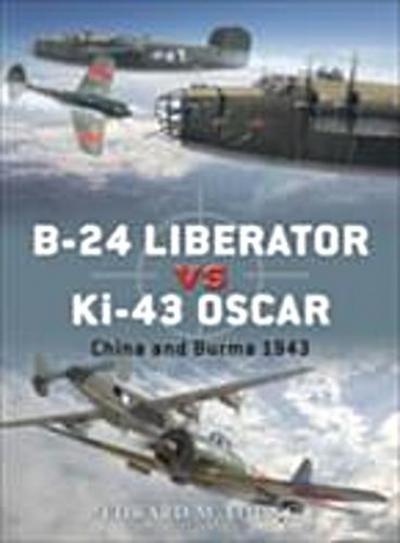B-24 Liberator vs Ki-43 Oscar