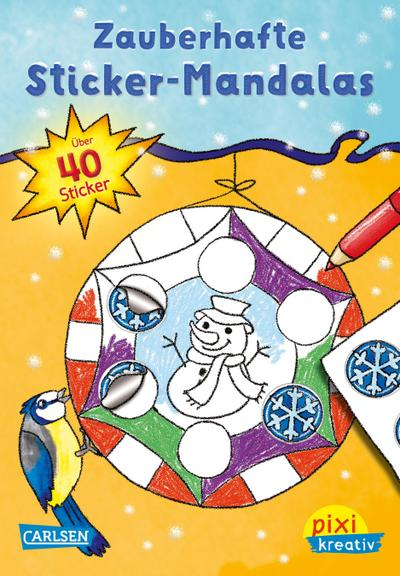 Pixi kreativ Nr. 92: VE 5 Zauberhafte Sticker-Mandalas