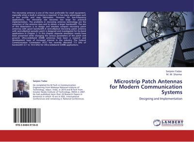 Microstrip Patch Antennas for Modern Communication Systems