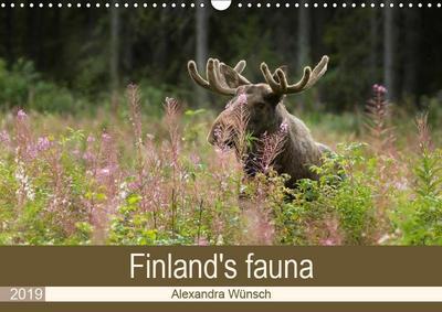 Finland's fauna (Wall Calendar 2019 DIN A3 Landscape)