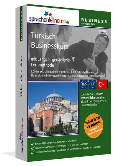 Sprachenlernen24.de Türkisch-Businesskurs Software