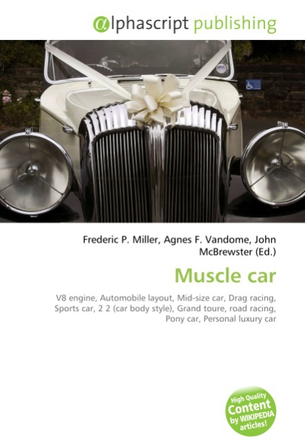 Muscle car Frederic P. Miller