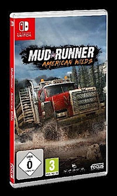 MudRunner, American Wilds, 1 Nintendo Switch-Spiel