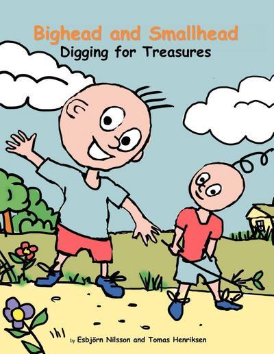 Bighead and Smallhead Digging for Treasures