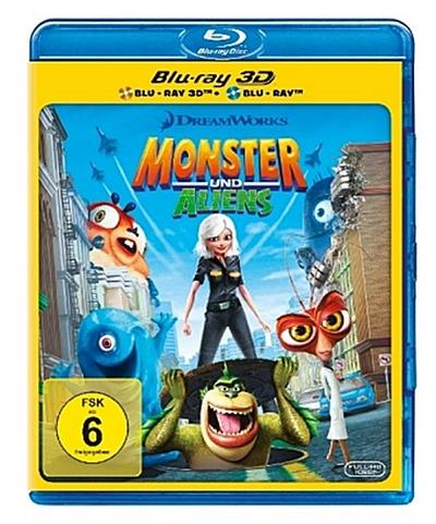 Monster und Aliens 3D-Edition