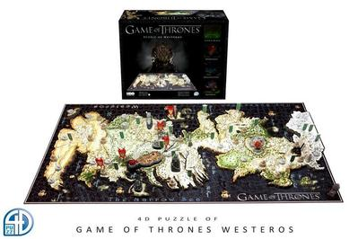 4D Game of Thrones: Westeros