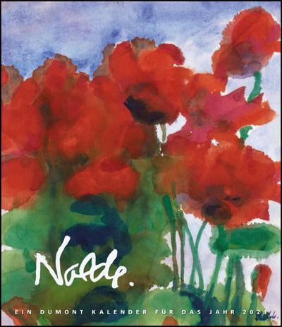 Emil Nolde 2021 - Kunstkalender - Wandkalender im Format 34,5 x 40 cm - Spiralbindung