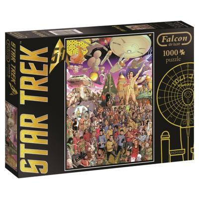 Star Trek 50th Anniversary - 1000 Teile Puzzle