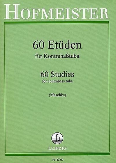 60 Etüdenfür Kontrabaßtuba