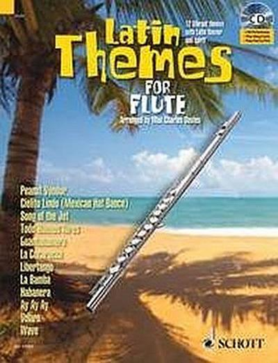 Latin Themes, for Flute, w. Audio-CD