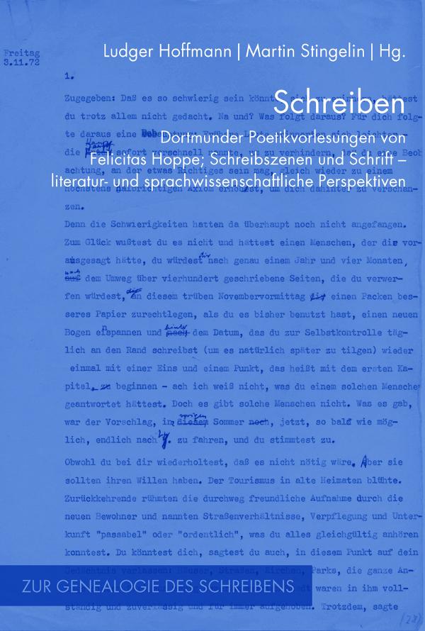 Schreiben Ludger Hoffmann