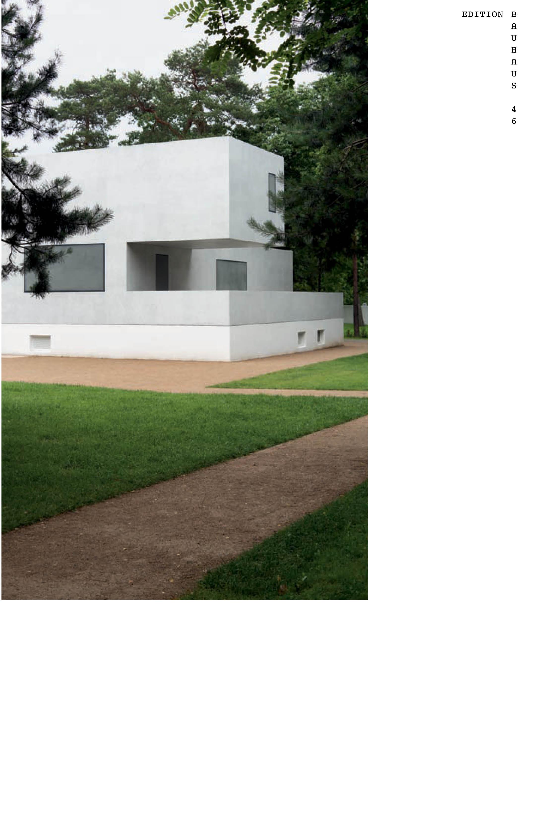The New Masters' Houses in Dessau - Regina Bittner -  9783944669731