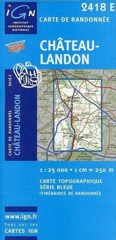 Chateau-Landon 1 : 25 000