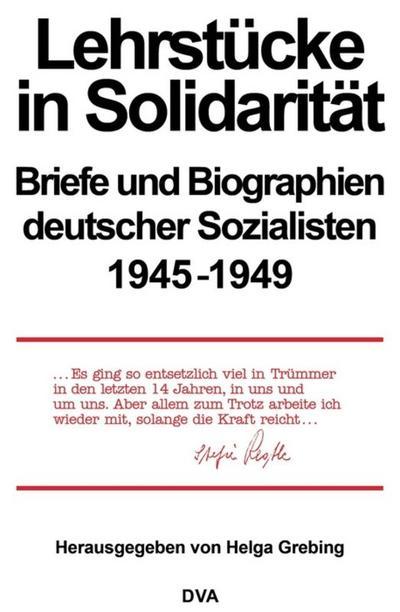 Lehrstucke in Solidaritat