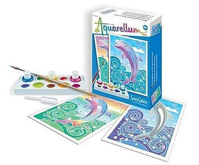 Aquarellum Mini: Delfine
