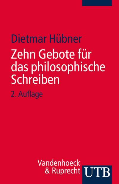 Zehn Gebote für das philosophische Schreiben